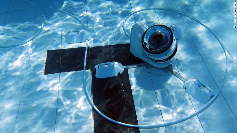 Olympics Robots Underwater Camera
