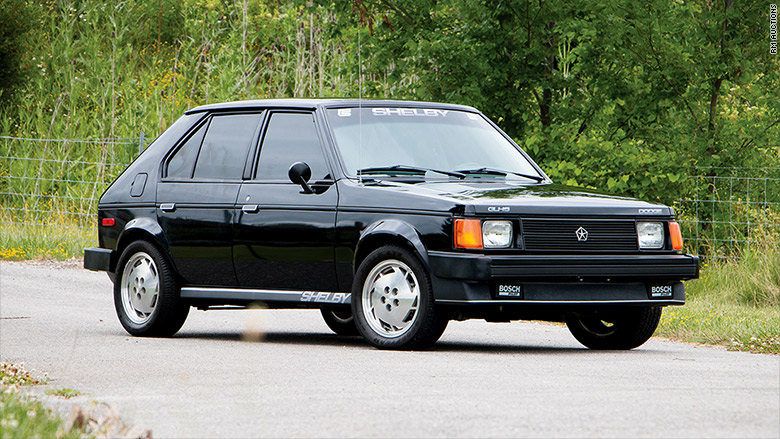dodge omni glhs  cool cars  auctioned  pebble beach cnnmoney