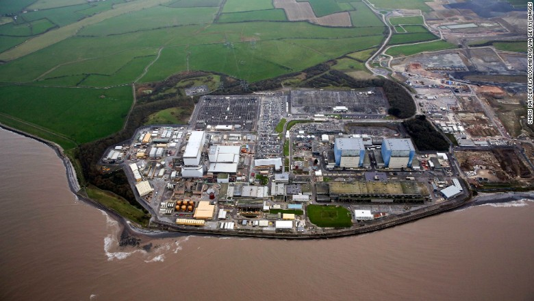uk nuclear hinkley point b