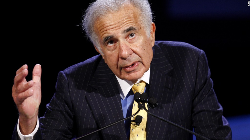 Why Carl Icahn says we're at war with business