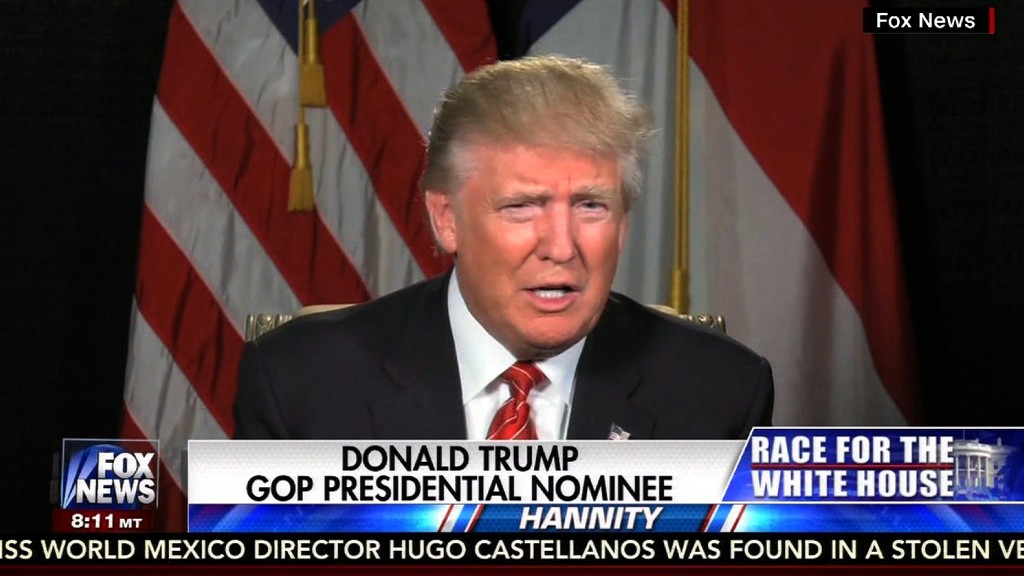 Trump on Clinton comment controversy: 'Give me a break'