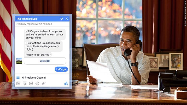 obama facebook bot