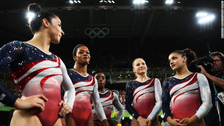 olympic gymnast uniforms