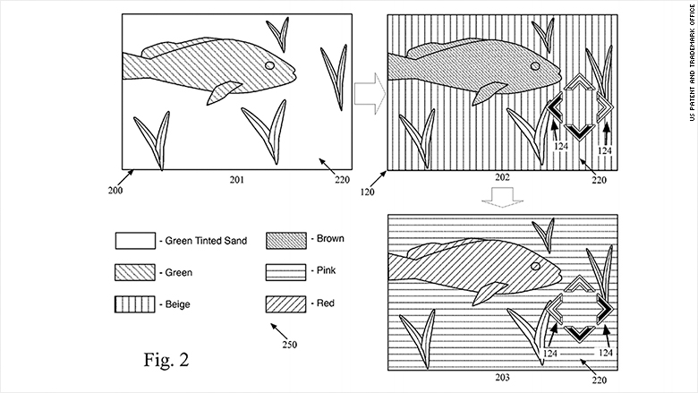 iphone underwater patent