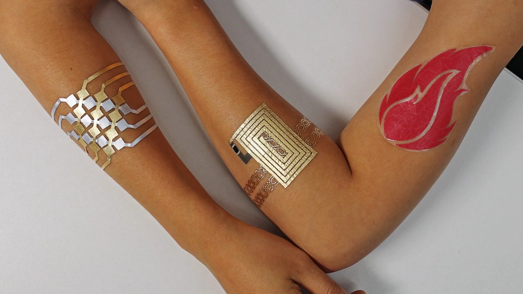Control your phone with these temporary tattoos