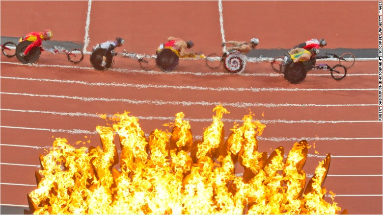 paralympics race budget