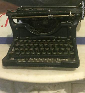 langston hughes typewriter