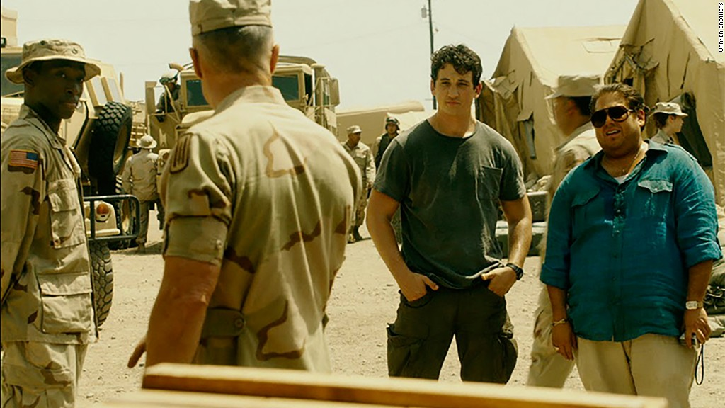 "Miles Teller, Jonah Hill talk bringing true story ""War Dogs"" to life"