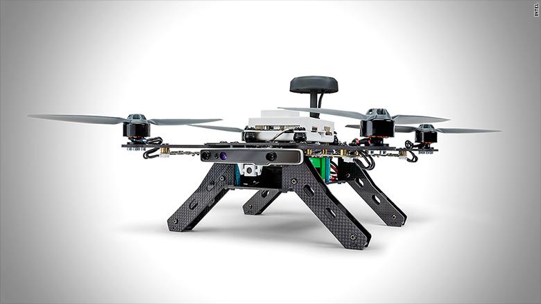 intel drone aero