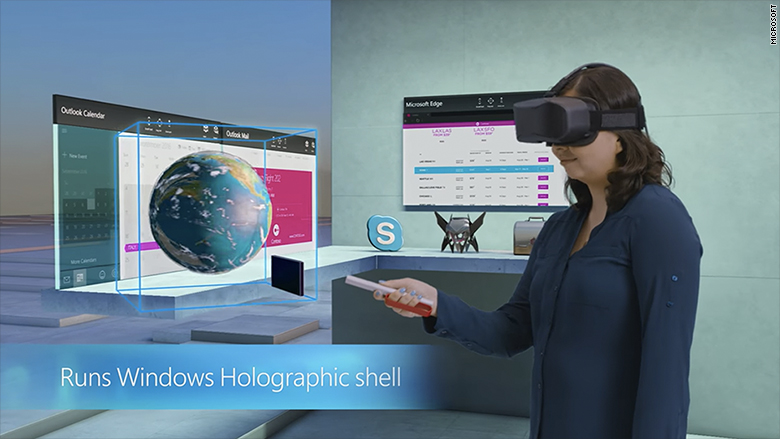 microsoft holographic shell