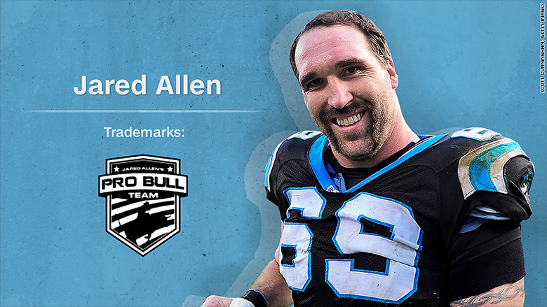 trademark jared allen