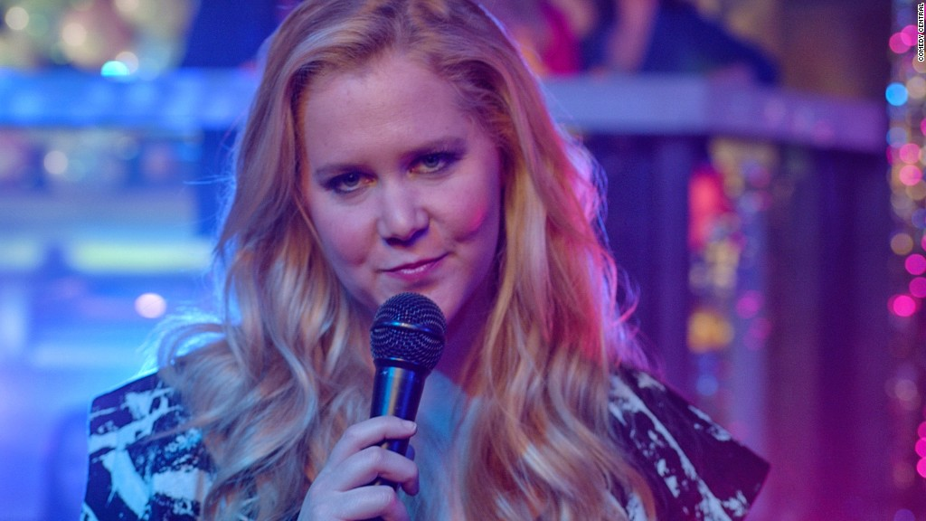 Amy Schumer swaps jobs with Vogue editor