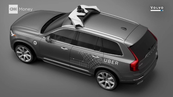 Uber will soon offer free rides in self-driving Volvos