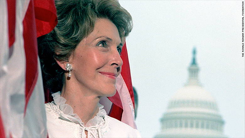 nancy reagan pearl and diamond earrings