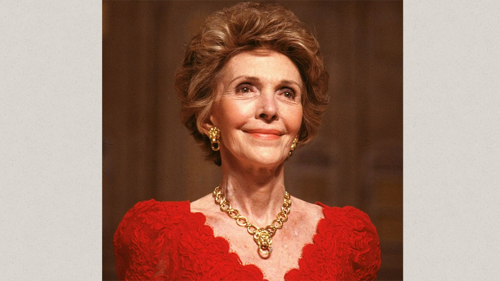 Nancy Reagan's jewelry up for auction
