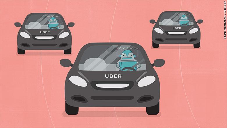 uber jobs robots