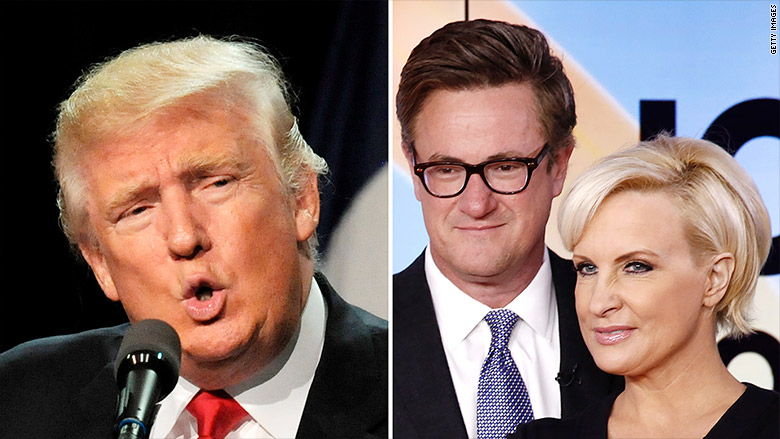 Donald Trump rips into 'Morning Joe' and calls Mika 'neurotic'