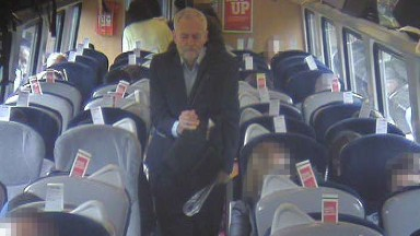 Richard Branson tries to shame Labour Party leader for sitting on train floor