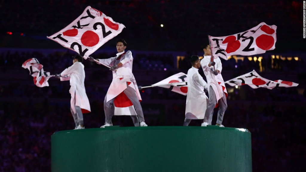 Tokyo picks up Olympic mantle