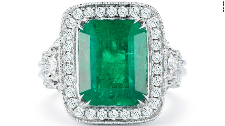 panjshir emerald ring