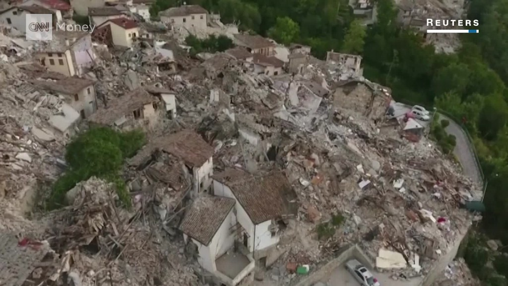 Airbnb, drones help rescue efforts after Italy quake
