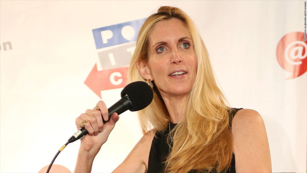 Ann Coulter rips Delta on Twitter over seat mixup