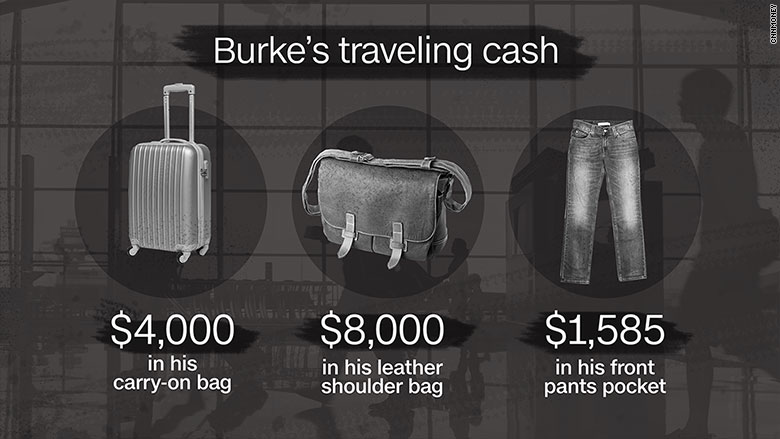 glen burke 2 travel cash