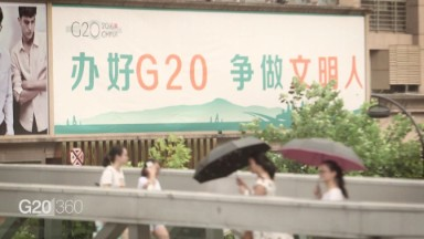 China's Hangzhou is hosting G20 leaders for the first time