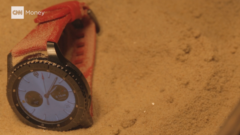 check out samsung's latest smartwatch