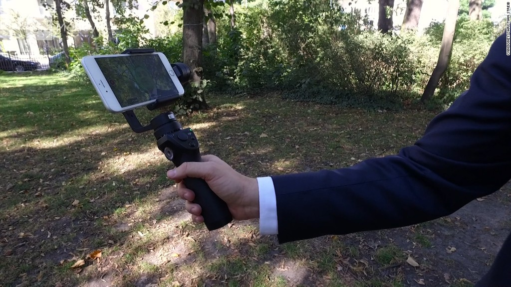 Hands-on with DJI's new electronic selfie stick