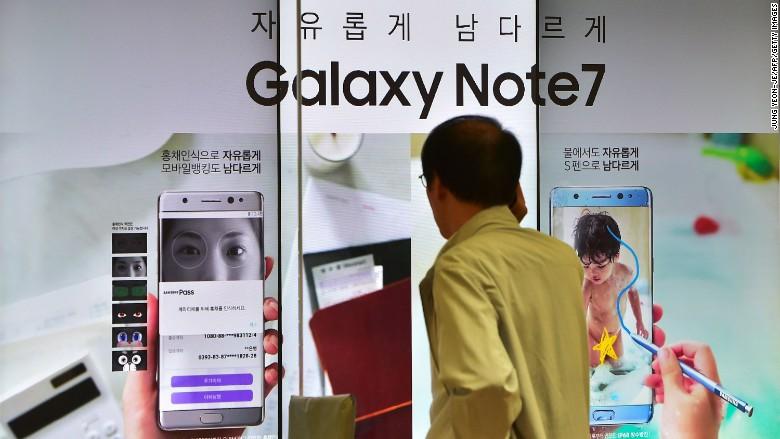 galaxy note 7 recall
