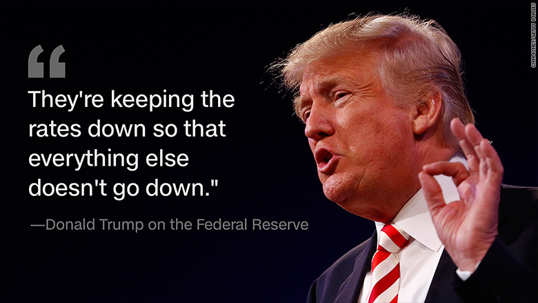 trump federal reserve quote