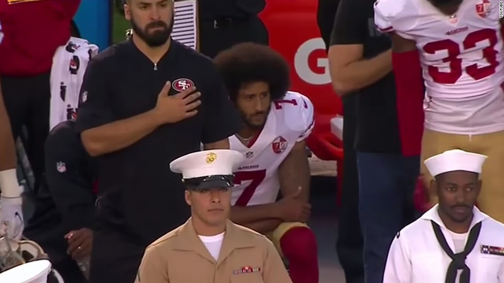 Fmr. NBA star pushes back on Kaepernick's critics