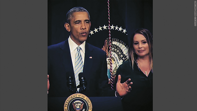 angie martinez obama