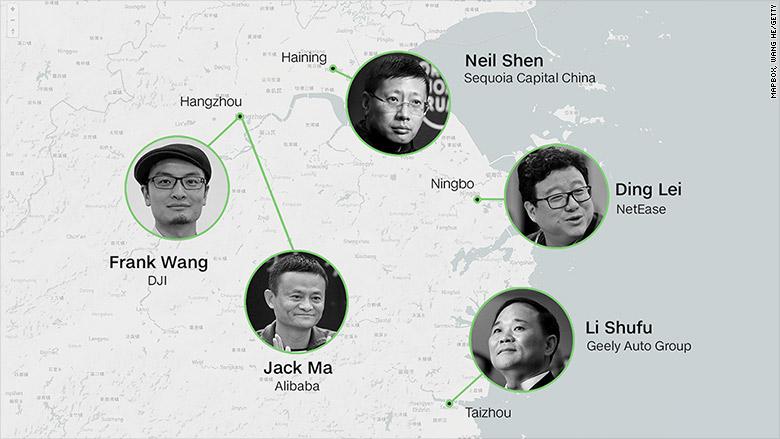zhejiang billionaires main