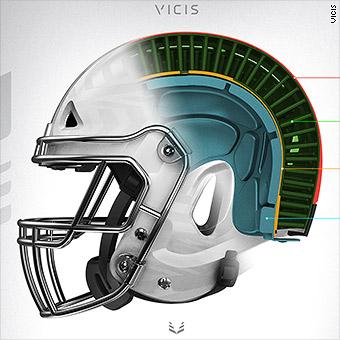 Flexible NFL helmet aims to reduce head injuries 43ddcbacc