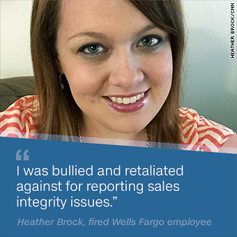 I called the Wells Fargo ethics line and was fired