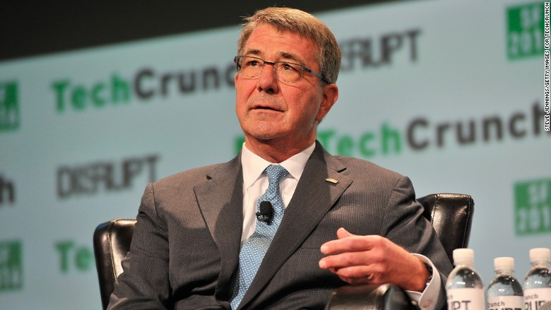 Ash Carter TechCrunch DoD