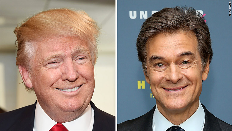 Donald Trump surprises Dr. Oz with results of recent physical