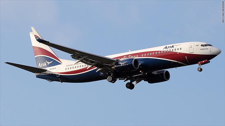 arik air boeing 737