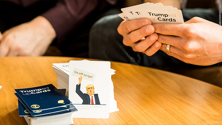 trumped up cards