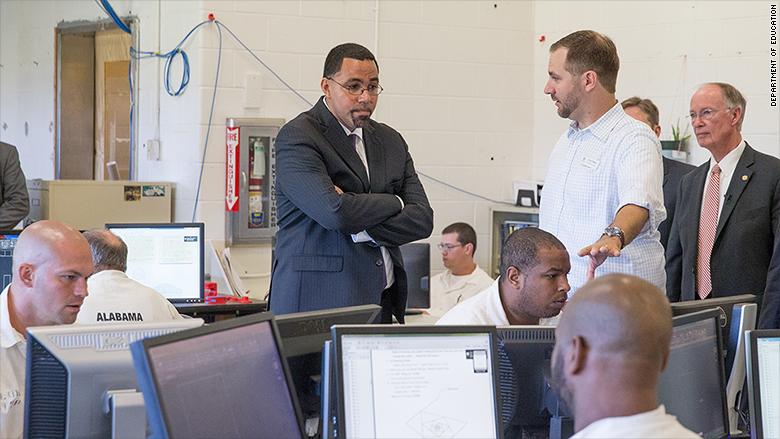 limestone correctional computer lab
