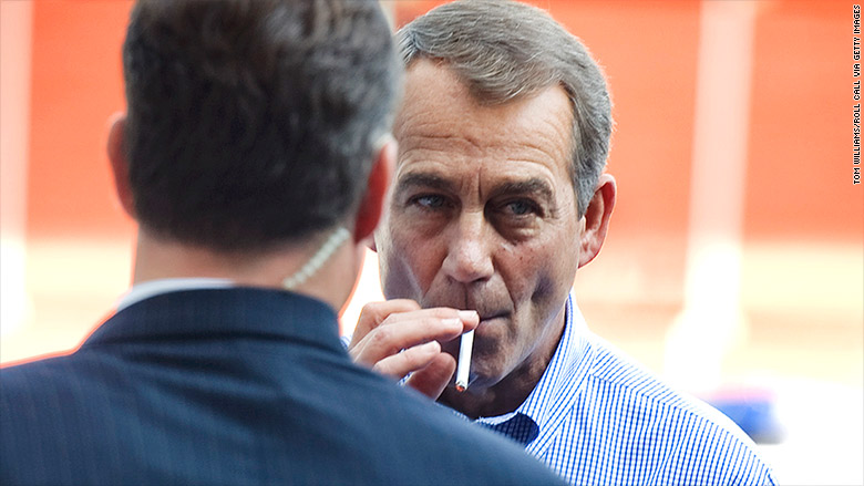 john boehner smoking