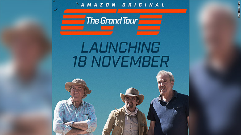39 the grand tour 39 start date set for november on amazon. Black Bedroom Furniture Sets. Home Design Ideas
