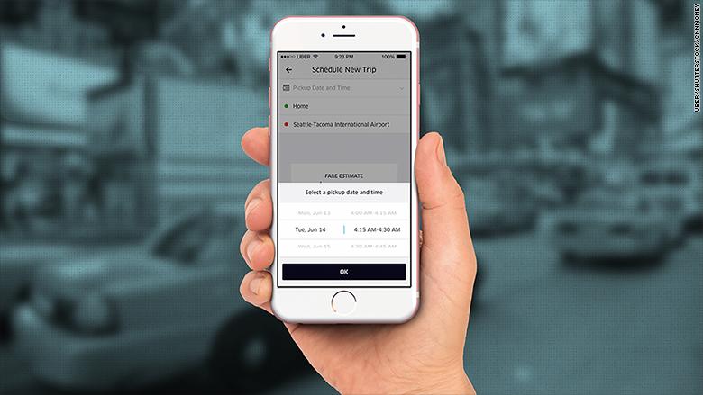 uber scheduling