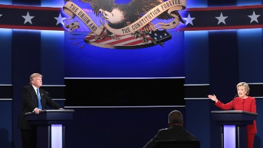 Donald Trump's reality TV background doesn't help him in debate