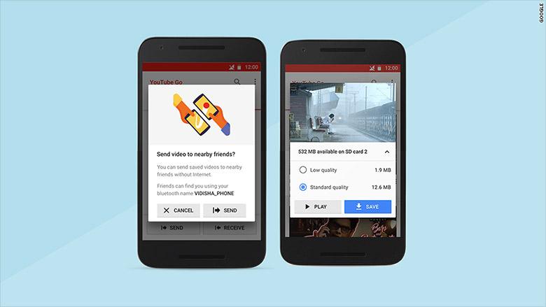 google youtube go india