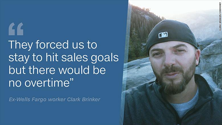 wells fargo worker clark brinker