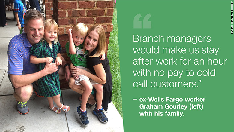 wells fargo worker graham gourley family