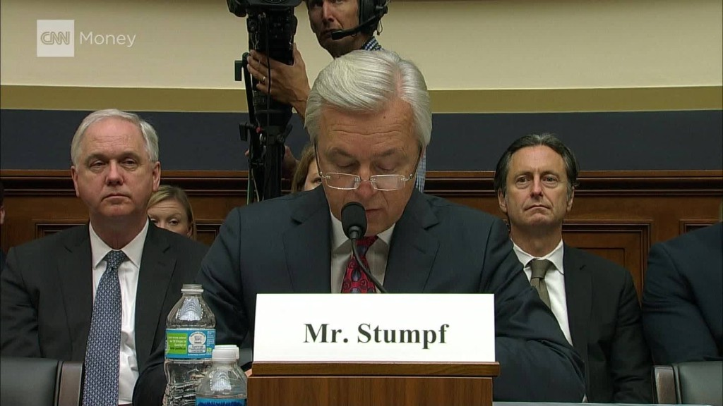Wells Fargo CEO pummeled by House committee